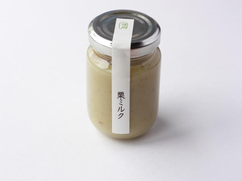 信州里の菓工房 栗ミルク 外装