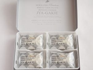 北海道プレミアムホワイトチョコじゃがッキーの中身