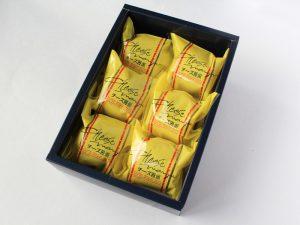 チーズ饅頭 開封