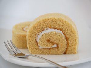 千葉落花生ロールケーキ 中身の写真