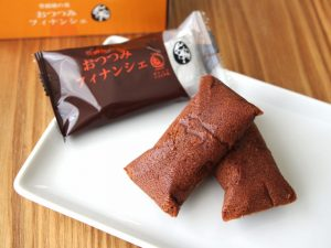 おつつみフィナンシェ オレンジショコラ味の中身