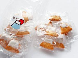 ぬまづ花見煎餅 fujisen 開封した写真