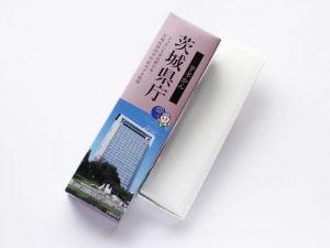 茨城県庁芋羊かん 開封した写真