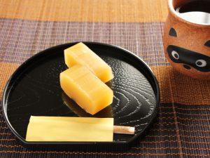 茨城県庁芋羊かん 中身の写真