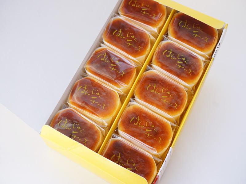 和泉屋 はんじゅくチーズ 開封した写真