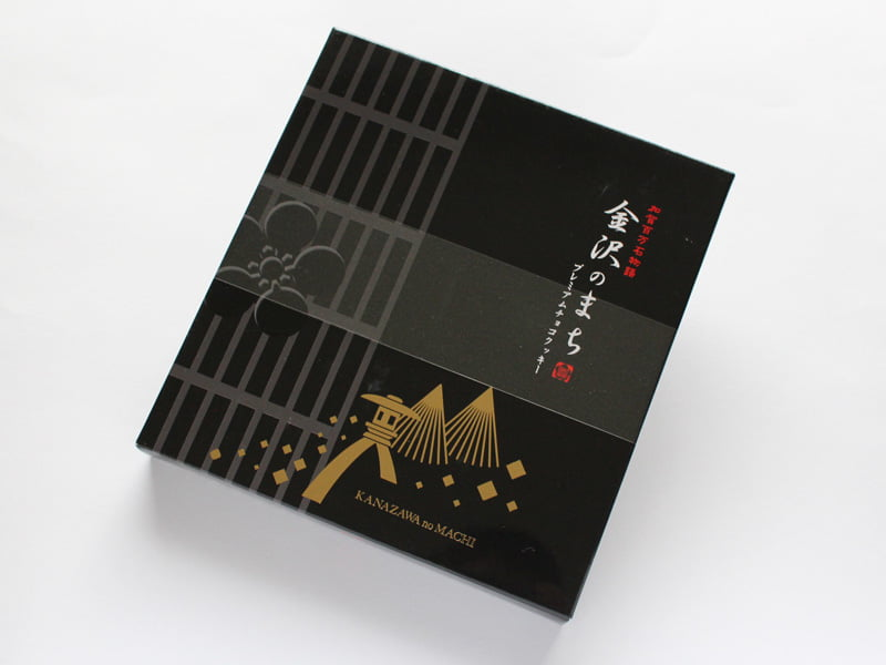 金沢のまち プレミアムチョコクッキー 外装