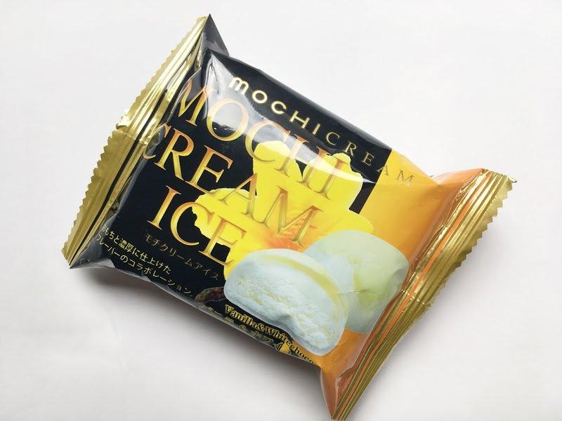 モチクリームアイス(バニラ&ホワイトチョコ)外装写真