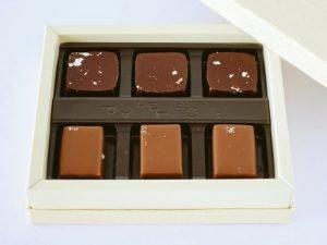 パレドオール 獺祭ショコラ 開封