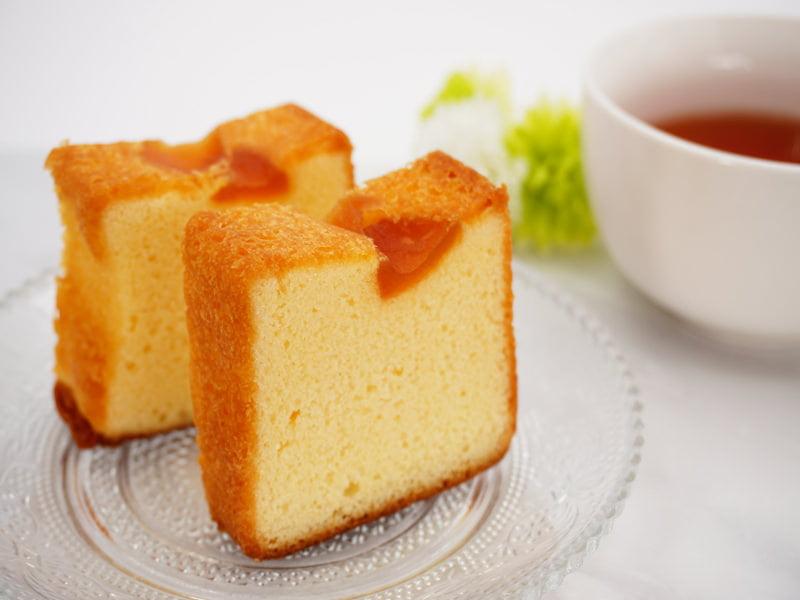 りんごの木 林檎のバターカステラ 中身の写真