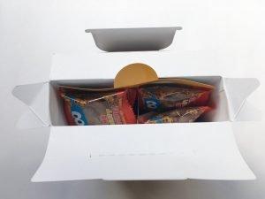 セサミストリートチョコチップクッキー開封写真