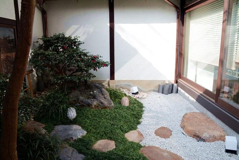 ベルアメール京都別邸中庭