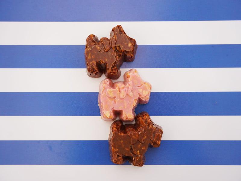 ユーハイム ココテリア チョコレートクランチミックス 中身の写真