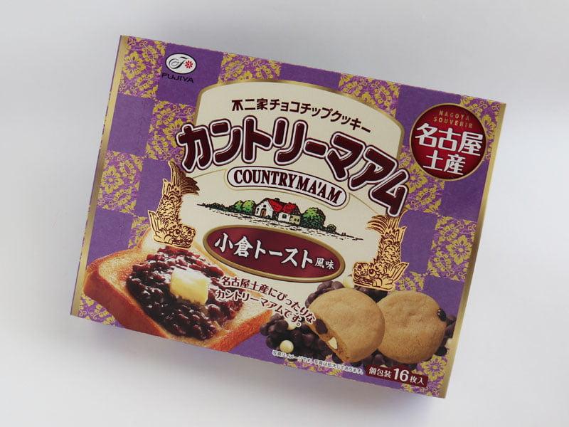 カントリーマアム小倉トーストの横向き外箱写真