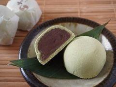 かん川本舗 塩味饅頭 志ほ万(抹茶)