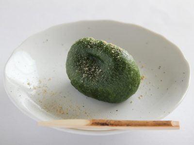 叶 匠壽庵 草の餅