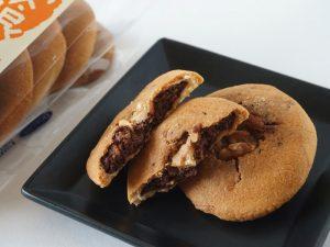 高峰堂 橅喰木(ブナクッキー) チョコ風味中身