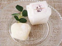 廣榮堂 ホワイトクリームのショコラ大福 ブラン