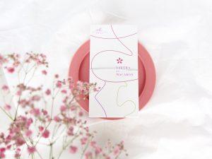 桜のマカロン外装