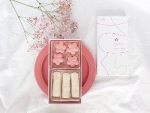桜のマカロン内装