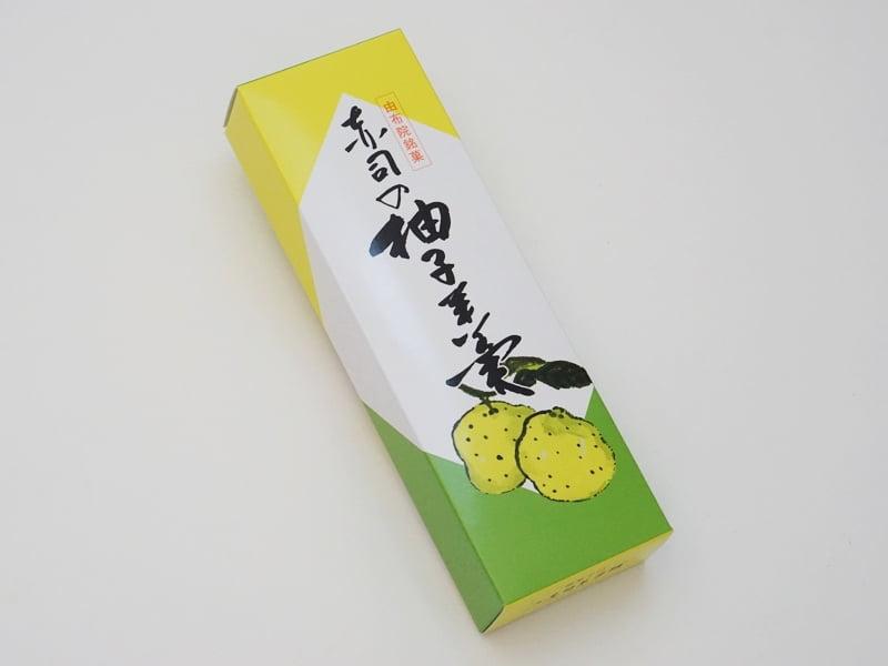 赤司菓子舗 柚子羊羹外装