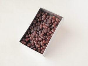 甘納豆小豆 開封