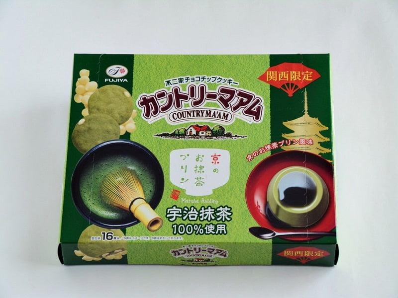 カントリーマアム京のお抹茶プリン 外装