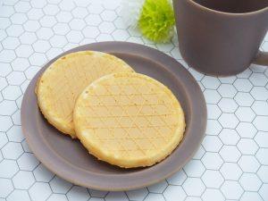 原山製菓 牛乳せんべい 中身の写真