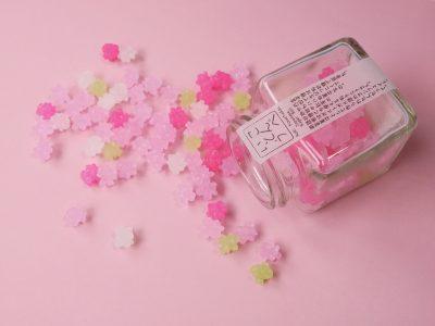 かわいい小瓶入り金平糖【さくら草】
