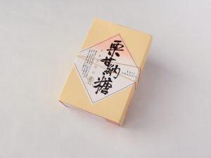 栗甘納豆 外箱