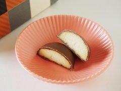 菓匠もりん チョコがけクッキー ミルク