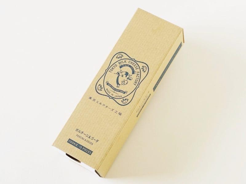 東京ミルクチーズ工場 ポルチーニ&ゴーダクッキー外装