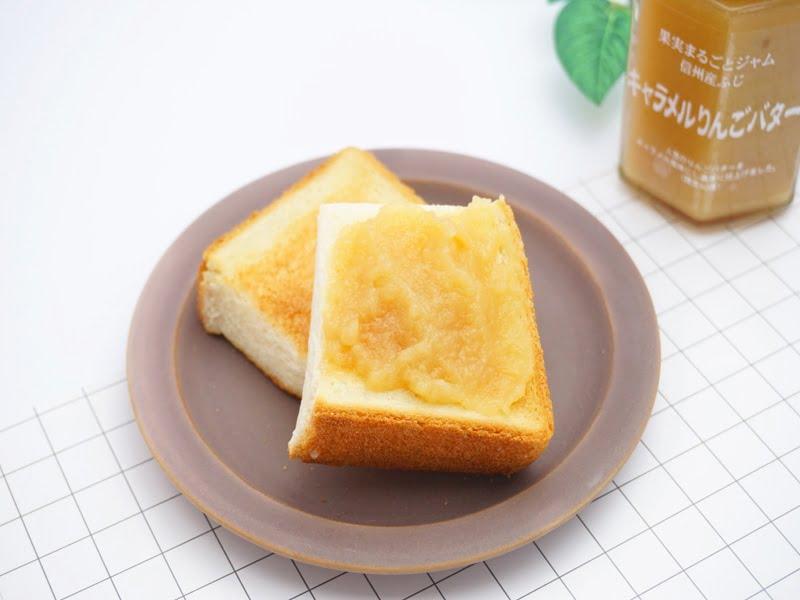 ツルヤ キャラメルりんごバター 中身の写真