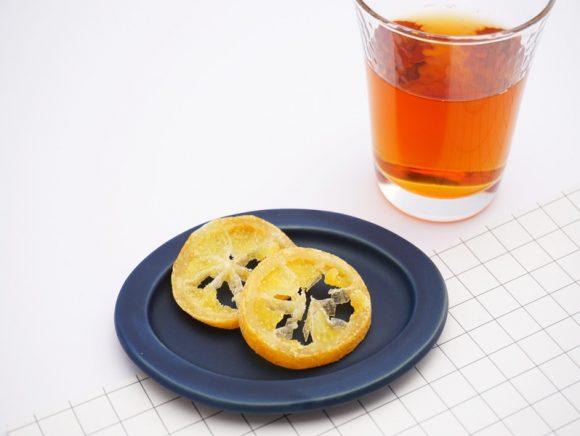 ツルヤ ドライフルーツ 輪切りレモン 中身の写真