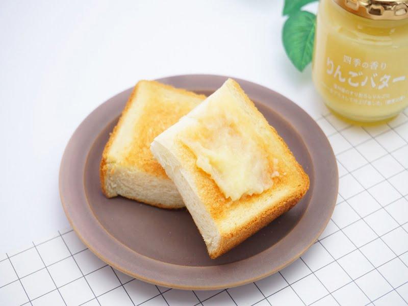 ツルヤ りんごバター 中身の写真
