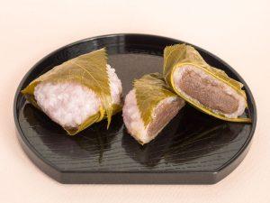 大師屋製菓 桜餅 中身写真