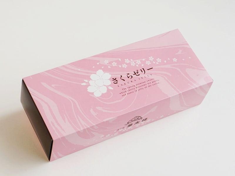 栄太楼 桜咲くさくらゼリー外装