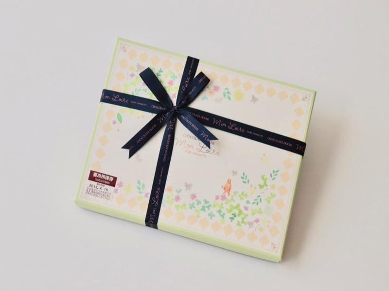 生チョコレートギフトBOX洋酒と抹茶 外装写真