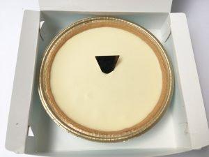 モロゾフレアチーズケーキ開封写真