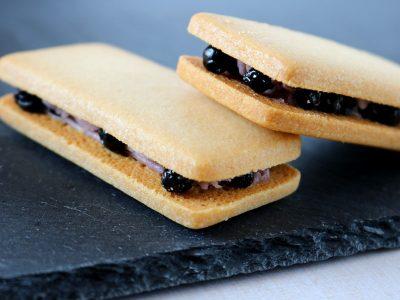 ピュアファームクッキー(ブルーベリーバターサンドクッキー)