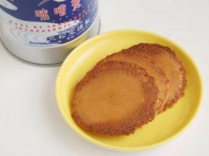 三松堂 味噌煎餅中身