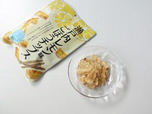 瀬戸内レモンごぼうチップス内装