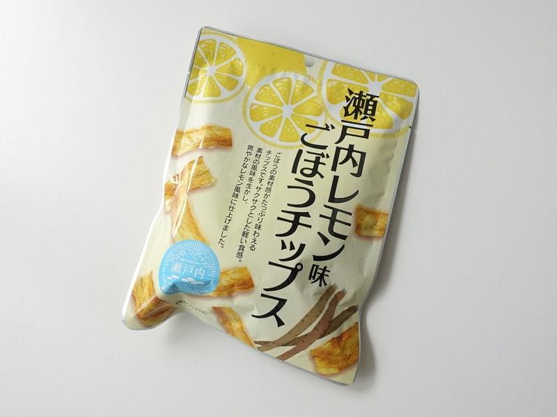 瀬戸内レモンごぼうチップス外装