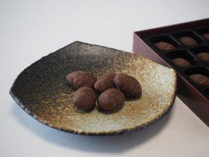 Almond choco 中身の写真