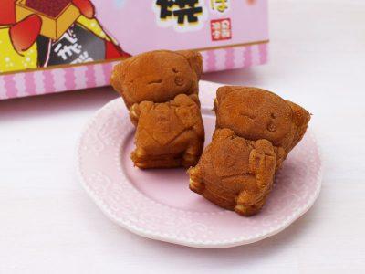 ふたごのさるぼぼ人形焼(こしあん)