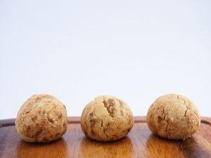 ベーグル屋ハル いちごのクッキー 中身の写真