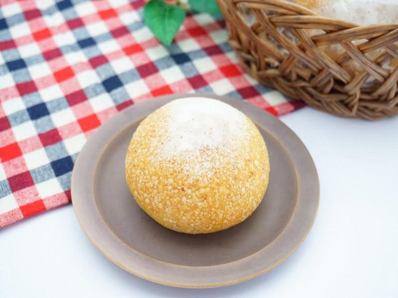 ベーグル屋ハル 丸パン 中身の写真
