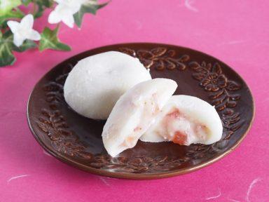 完熟苺のとろけるクリーム大福