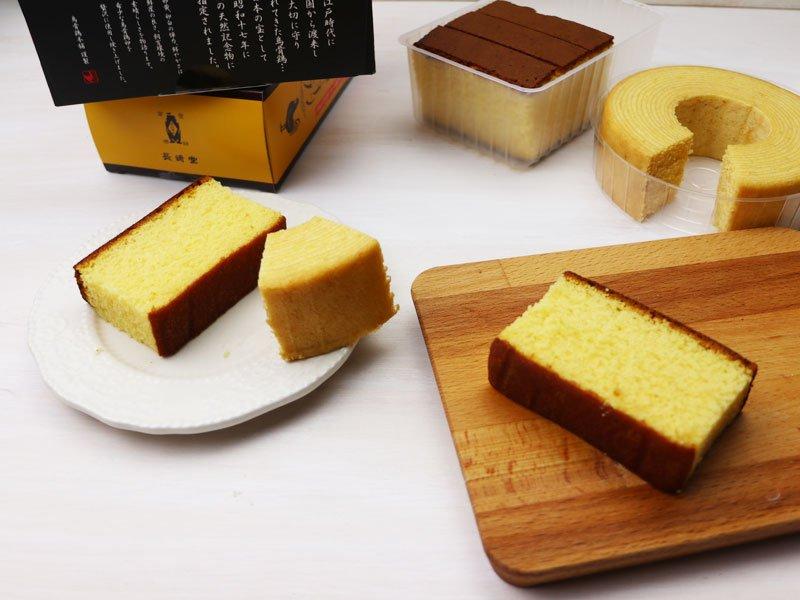 お土産菓子を冷凍保存する手順の写真