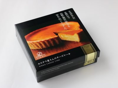 日光カステラ本舗 カステラ屋さんのチーズケーキ