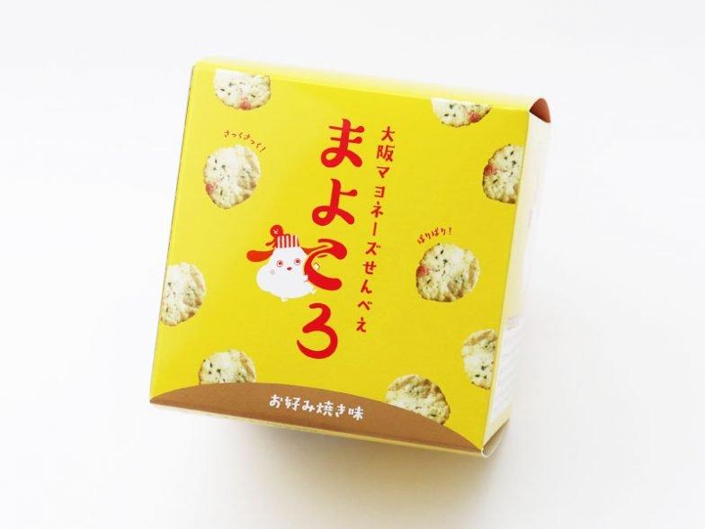 大阪マヨネーズせんべえ まよころ(お好み焼き味)